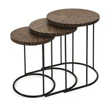 See Details - Hoki Coco Shell Tables - Set of 3