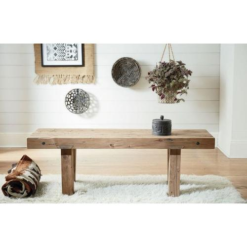 RECLAIMED WORKBENCH COFFEE TABLE