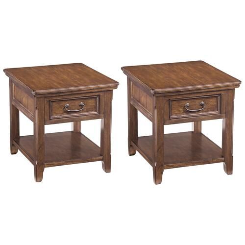Ashley - 2 End Tables