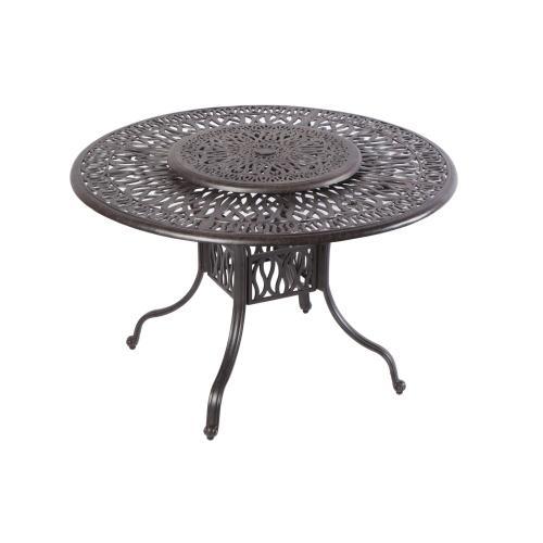 """Kaleidoscope 42"""" Round Gathering Table w/Umb hole"""