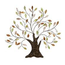 """See Details - MTL CAPIZ TREE WALL ART 30""""W, 29""""H"""