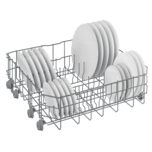 Beko Tall Tub White Dishwasher, 14 place settings, 48 dBa, Front Control