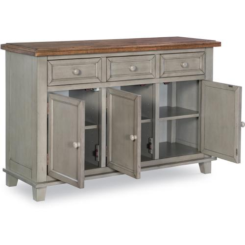 Buffet in Hickory & Stone