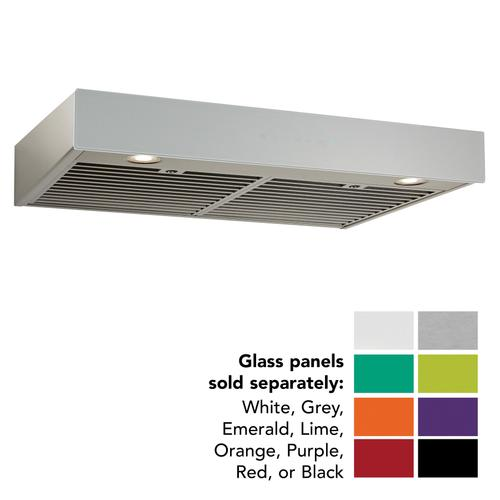 BEST Range Hoods - 30-inch Under-Cabinet Range Hood w/ PURLED™, ENERGY STAR, 550 Max Blower CFM, Without Glass (UCB3 Series)
