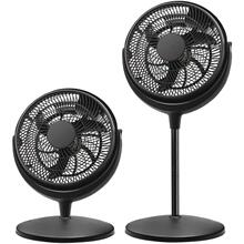 12-Inch 2-in-1 Air Circulator Stand Fan