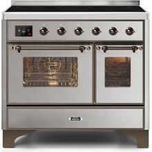 40 Inch Stainless Steel Electric Freestanding Range