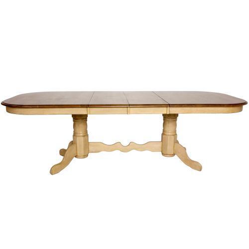 Product Image - Double Pedestal Extendable Dining Set w/Server (8 piece)