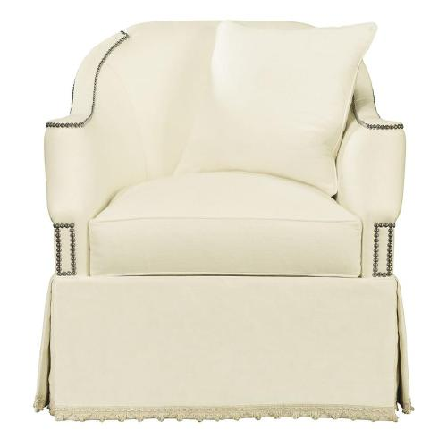 Hickory Chair - Eton Swivel Chair without Nailhead Trim