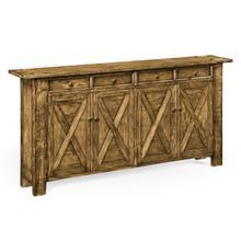 See Details - Medium Driftwood Narrow Sideboard