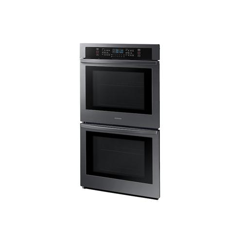 """Gallery - 30"""" Smart Double Wall Oven in Black Stainless Steel"""