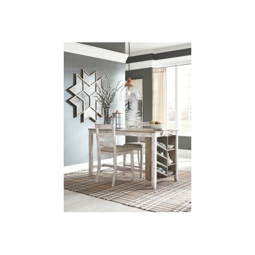 Skempton RECT Counter Table w/Storage Two-tone