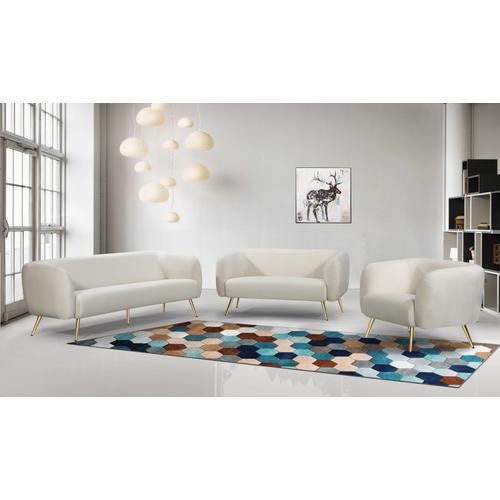 """Harlow Velvet Sofa - 83"""" W x 33"""" D x 31.5"""" H"""