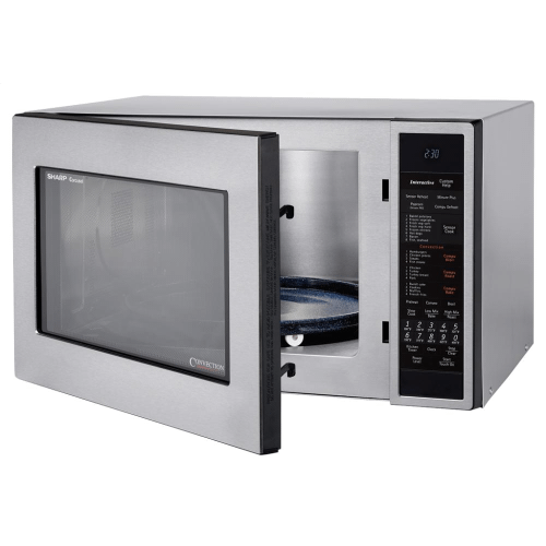 Sharp Carousel Countertop Convection + Microwave Oven 1.5 cu. ft. 900W Stainless Steel