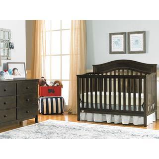 Fisher-Price Aubree Convertible Crib, Dark Roast