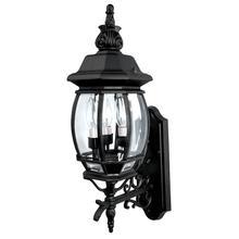 3 Lamp Wall Mount Outdoor Lantern