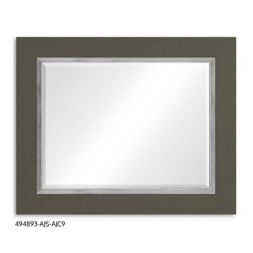 """Homespun"" mirror (Flannel/Silver)"