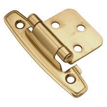 Flush Hinge - Polished Brass