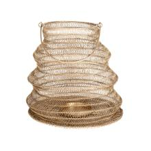 Product Image - Everly Hanging Lantern(Med), Antique Brass