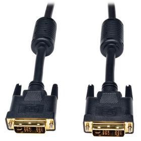 DVI Single Link Cable, Digital and Analog TMDS Monitor Cable (DVI-I M/M), 6 ft.