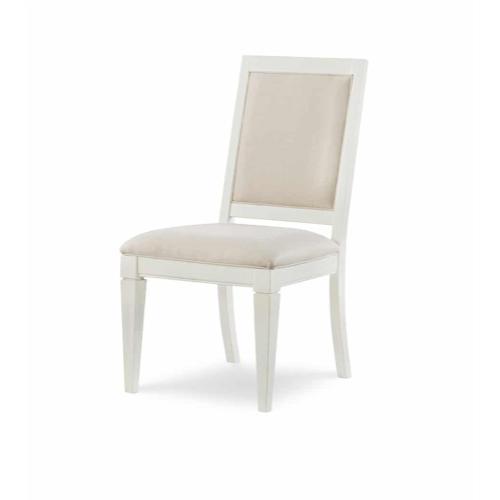 Upholstered Back Side Chair - Sea Salt