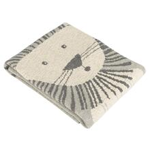 Dandy Lion Throw - Grey