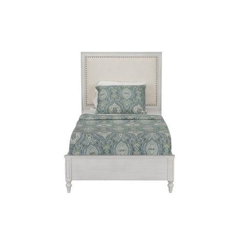 Sarah Full Upholstered Panel Bed