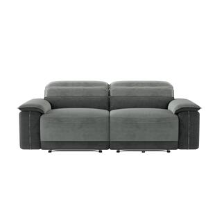 See Details - Ember Double Reclining Love Seat