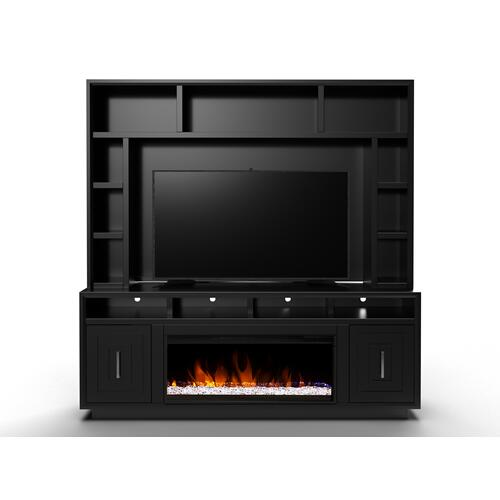 "Sunset 83"" Fireplace Console"