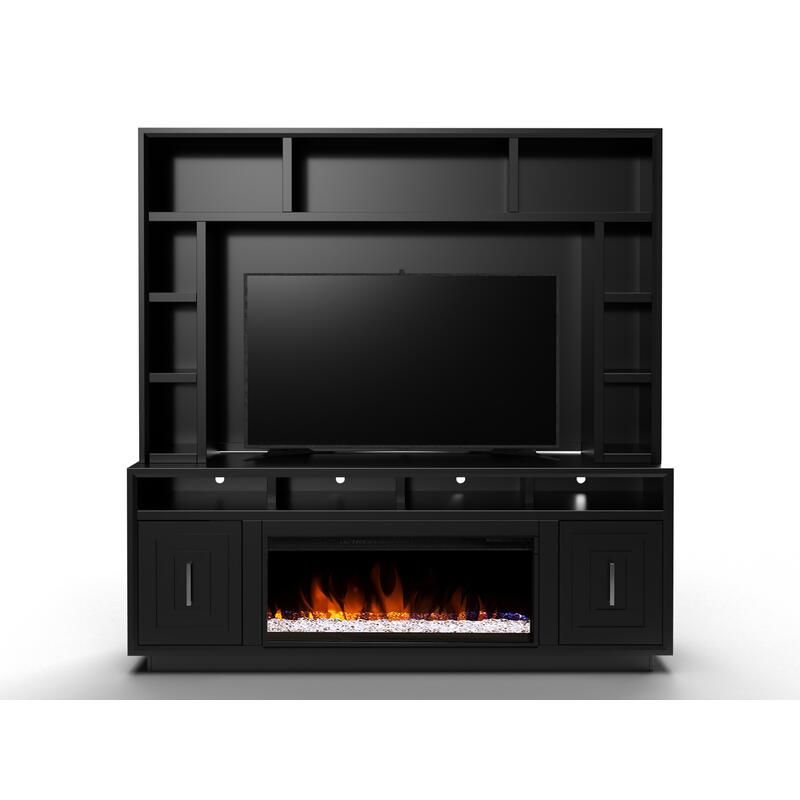 "Sunset 83"" Fireplace Console"