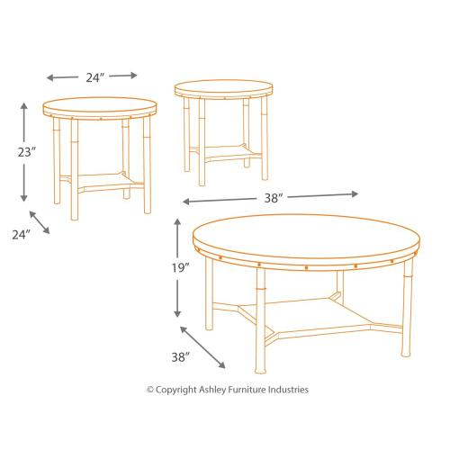 Sandling Table (set of 3)