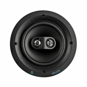 """DT Custom Install Series Round 6.5"""" Single Stereo and Surround In-Ceiling Speaker"""