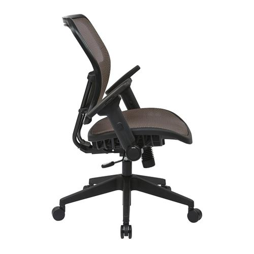 Latte Air Grid Seat and Back Chair