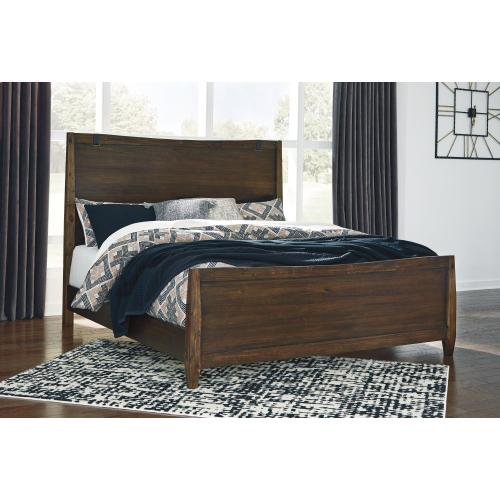 Kisper California King Panel Bed