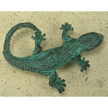 Lizard Knob in Verdigris