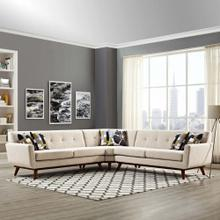See Details - Engage L-Shaped Sectional Sofa in Beige