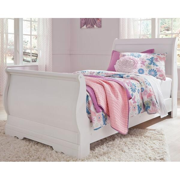 Anarasia Twin Sleigh Bed
