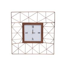 Geo Wire Wall Clock