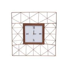 Geo Wire Wall Clock