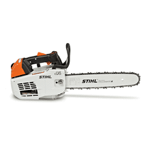 Advanced arborist chainsaw with a top handle and STIHL M-Tronic™ technology.
