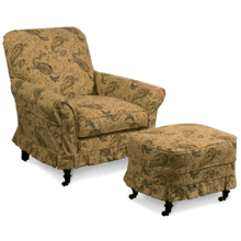 AC22-M Accent Chair AC22-M Ottoman