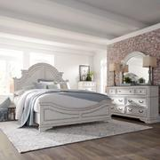 King California Panel Bed, Dresser & Mirror, Chest Product Image