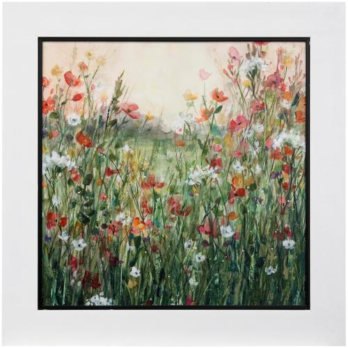 Style Craft - SPRING IN FULL BLOOM  39 X 39  Made in USA  Textured Framed Print