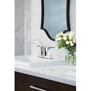 Voss chrome two-handle bathroom faucet