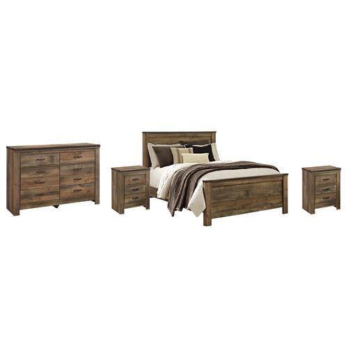 Ashley - Queen Panel Bed With Dresser and 2 Nightstands