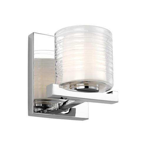 Volo 1 - Light Wall Sconce Chrome Bulbs Inc