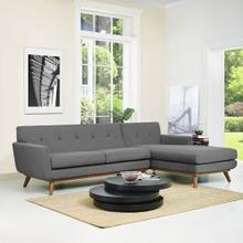 See Details - Engage Right-Facing Sectional Sofa in Gray
