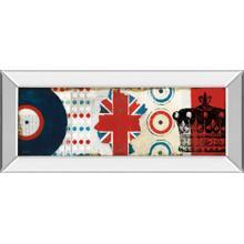 """British Invasion I"" By Mo Mullan Mirror Framed Print Wall Art"
