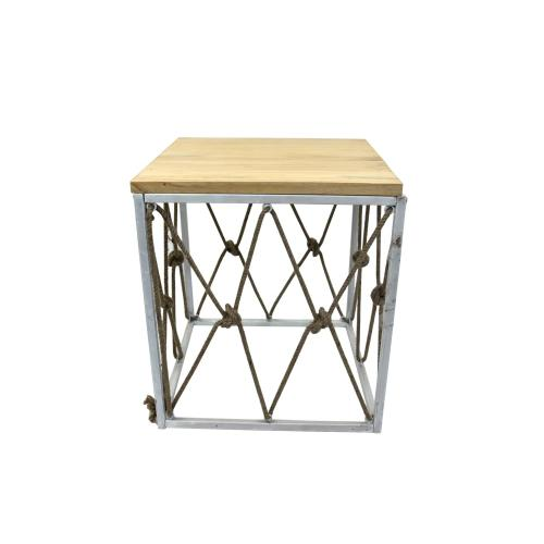 St. Augustine Square End Table