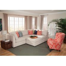 See Details - Chaise Ottoman