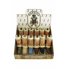 Bandito Display Box W/24 Shot Glass Boots